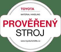 Prověřený stroj Toyota Material Handling
